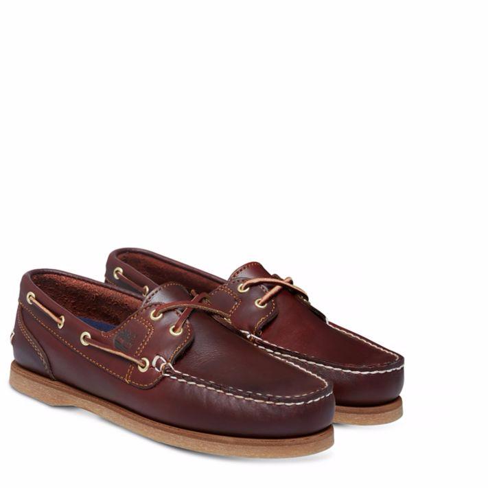 ac008c5d66e 2-eye classic chaussure bateau femme marron rootbeer smooth