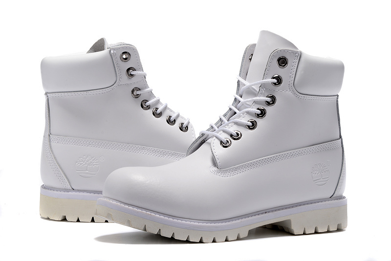 timberland 6 inch femme blanche
